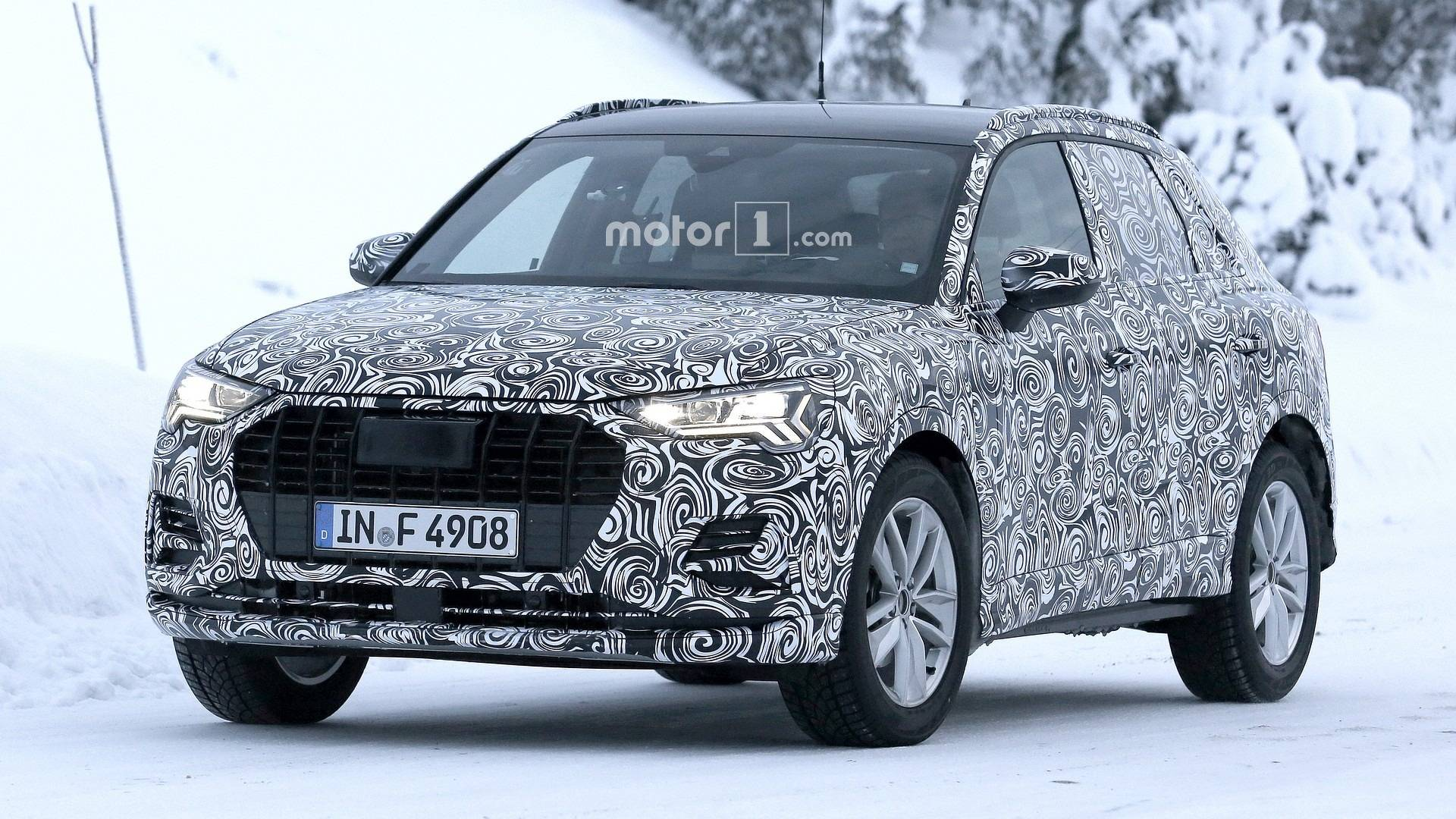 2019 Audi Q3 Spotted In Motion Testing In Different Trim Levels