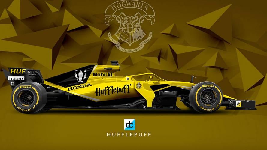 Coches de F1, según el mundo de Harry Potter