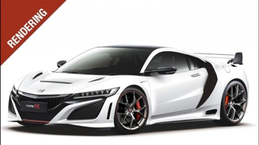 """Honda NSX Type R, la """"jap"""" diventa cattiva"""