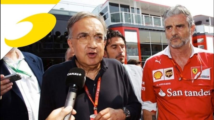 """Marchionne: """"Ferrari: voglio la vittoria entro l'anno"""""""