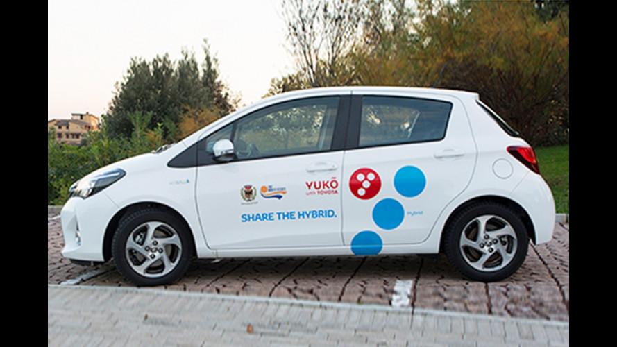 """Il car sharing """"ibrido"""" di Toyota e Yuko arriva a Venezia"""