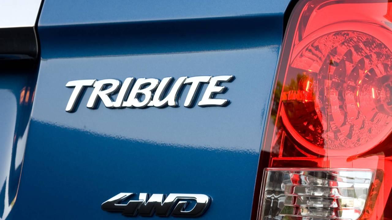 Mazda Tribute Badge