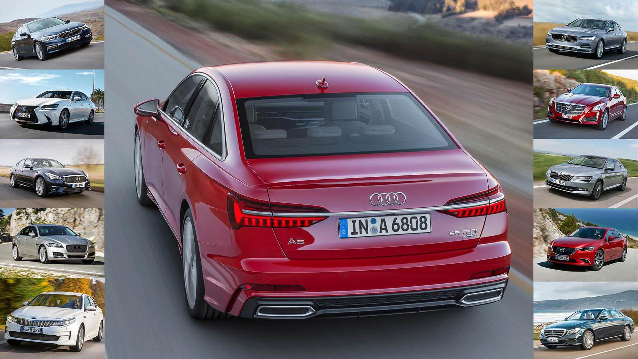 Die Gegner des neuen Audi A6