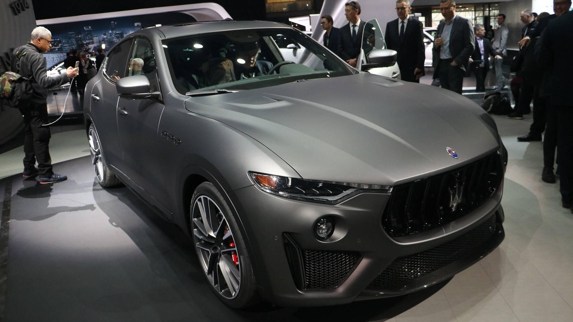 2019 Maserati Levante Trofeo Review >> Maserati Levante Trofeo Storms New York With 590 Hp V8