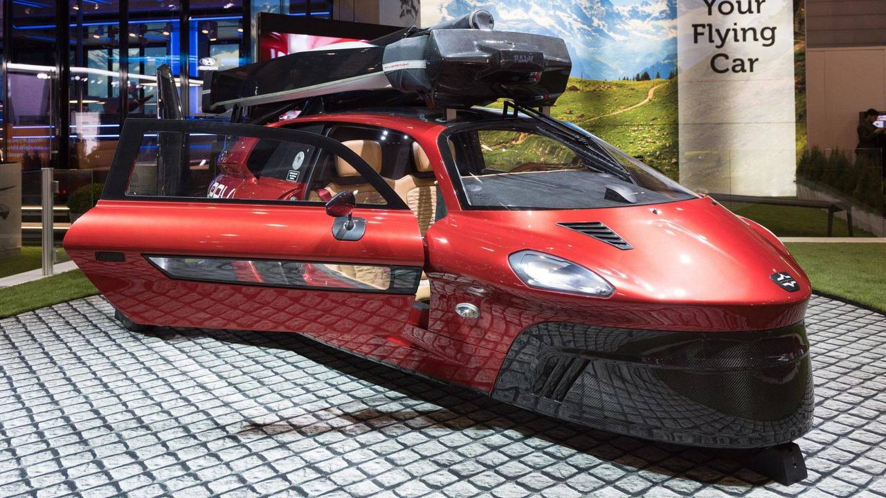 Pal-V Liberty Flying Car: Geneva 2018