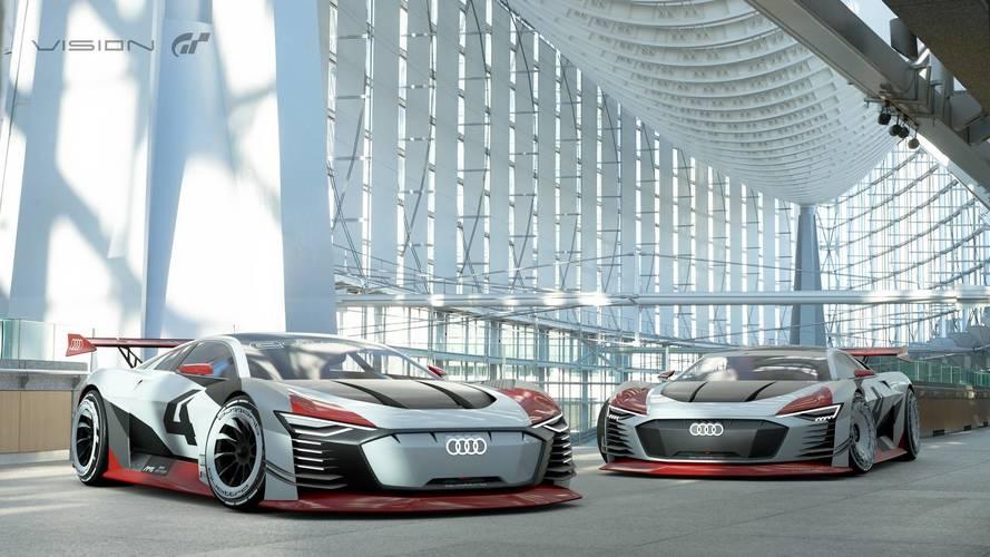 Audi e-tron Vision Gran Turismo, dalla PlayStation alla realtà