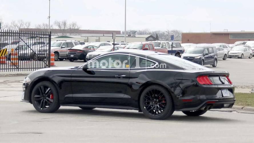 Ford Mustang Bullitt 2018 imágenes espía