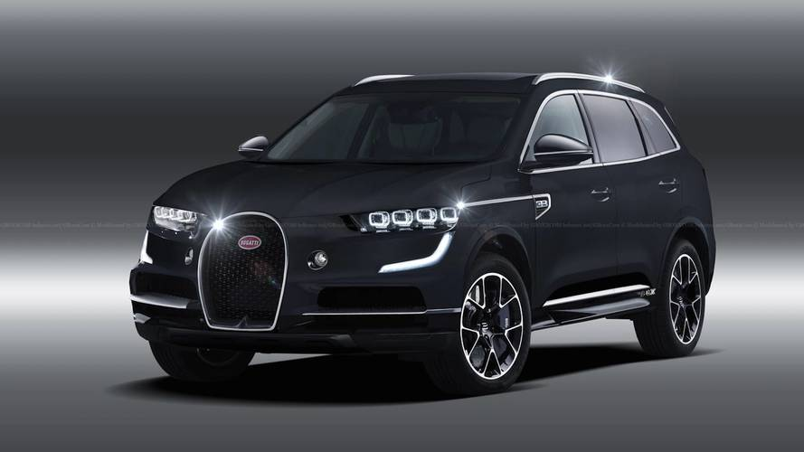 Bugatti says an SUV would not be based on another VAG model