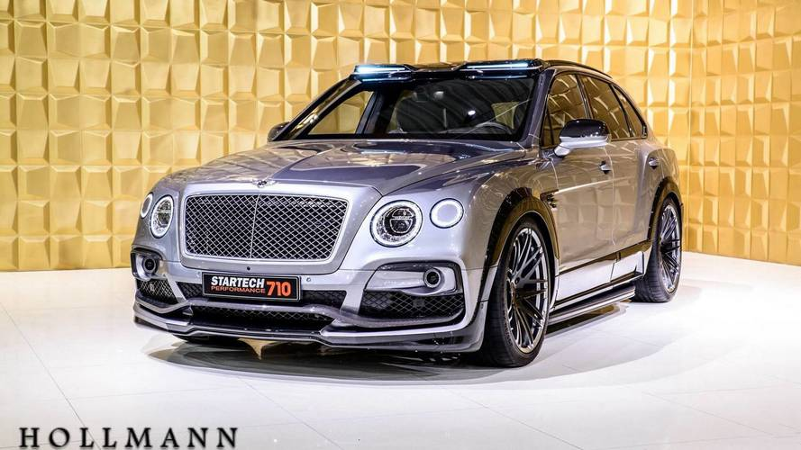 Tuning - Startech s'occupe du Bentley Bentayga