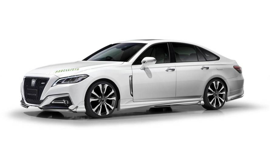 New Toyota Crown Gets Sporty Attitude Thanks To Modellista