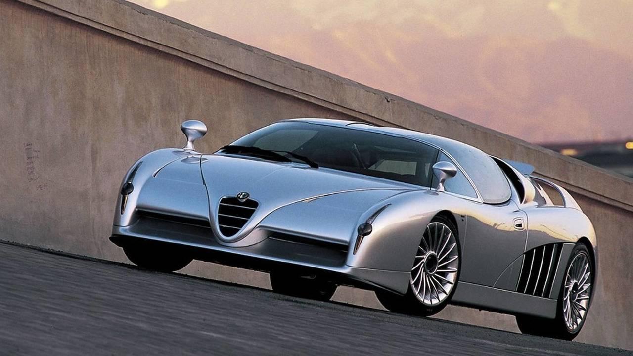 4. 1997 Alfa Romeo Scighera konsepti