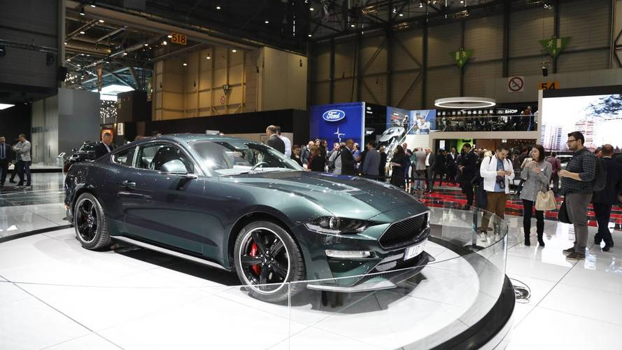 Ford Mustang Bullitt Arrives In Geneva To Mark European Launch