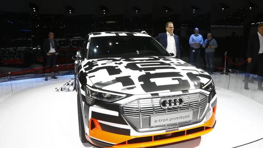 Audi E-Tron Prototype salon de Genève