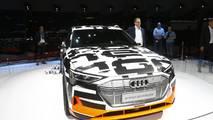 Audi e-tron prototype: salón de Ginebra 2018