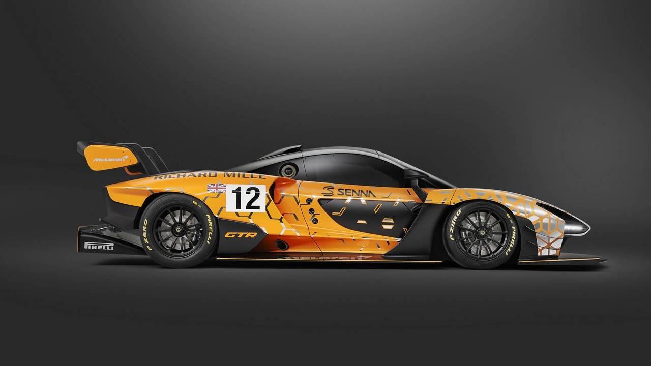 McLaren Senna GTR Konsepti