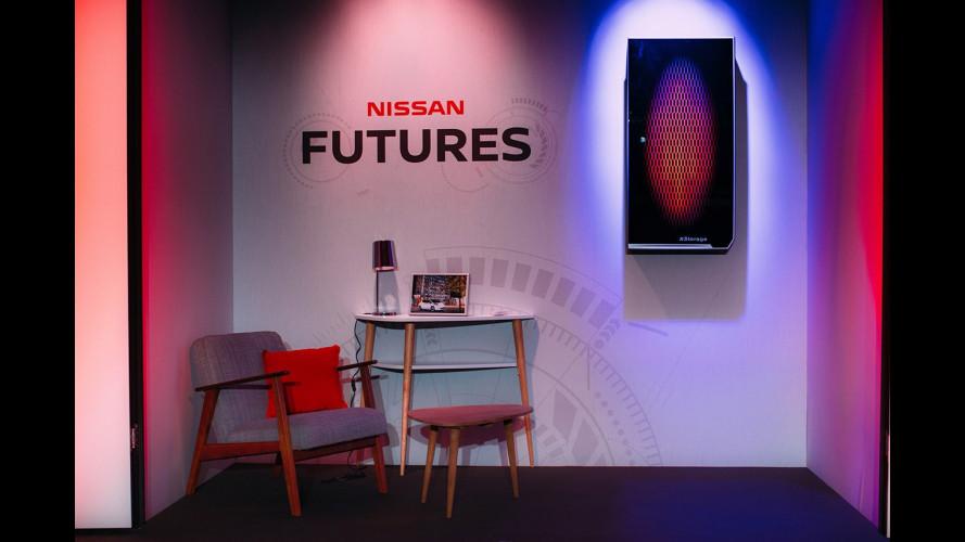 Nissan Leaf, la seconda vita delle batterie