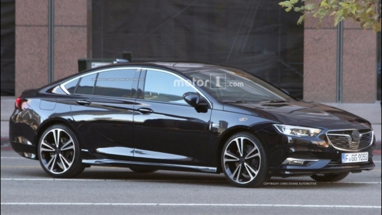 [Copertina] - Nuova Opel Insignia Grand Sport, le prime foto