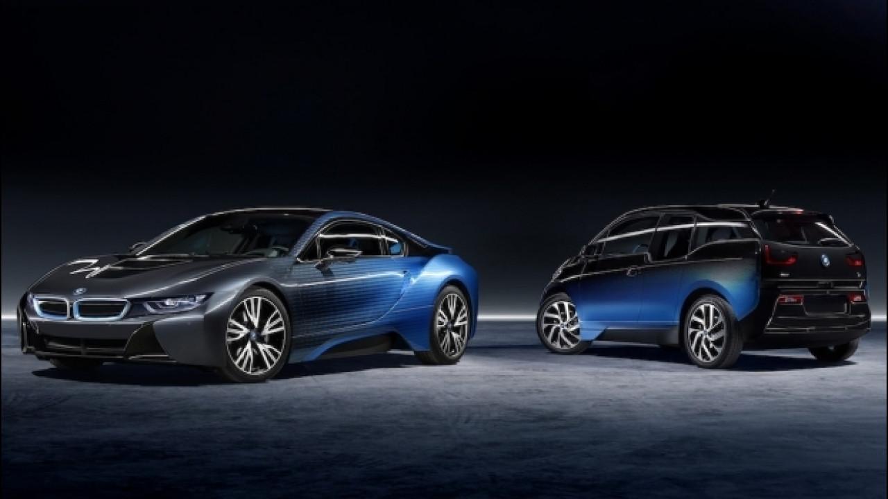 [Copertina] - Garage Italia Customs, BMW i3 e i8 fanno il pieno di sfumature