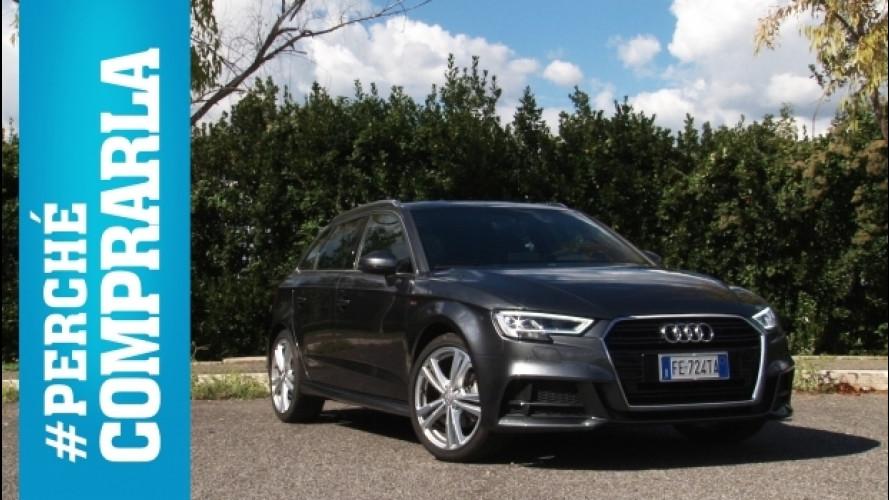 Audi A3, perché comprarla… e perché no [VIDEO]