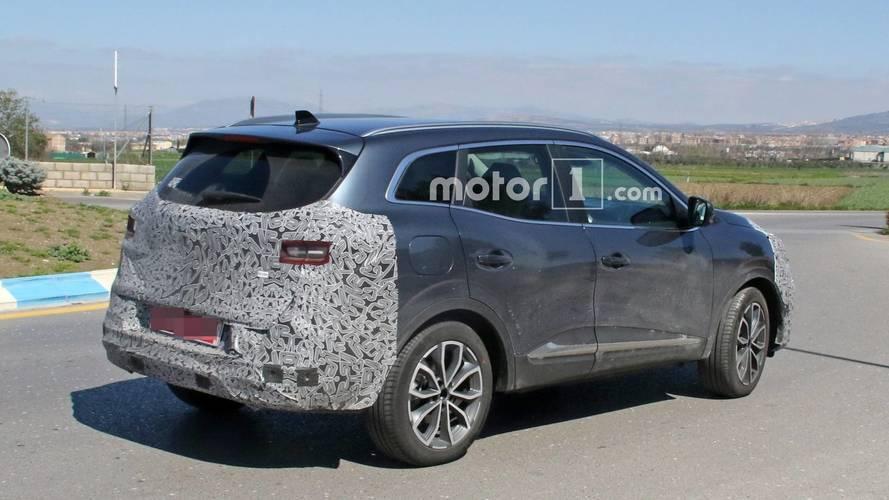 Renault Kadjar facelift Photos Espion