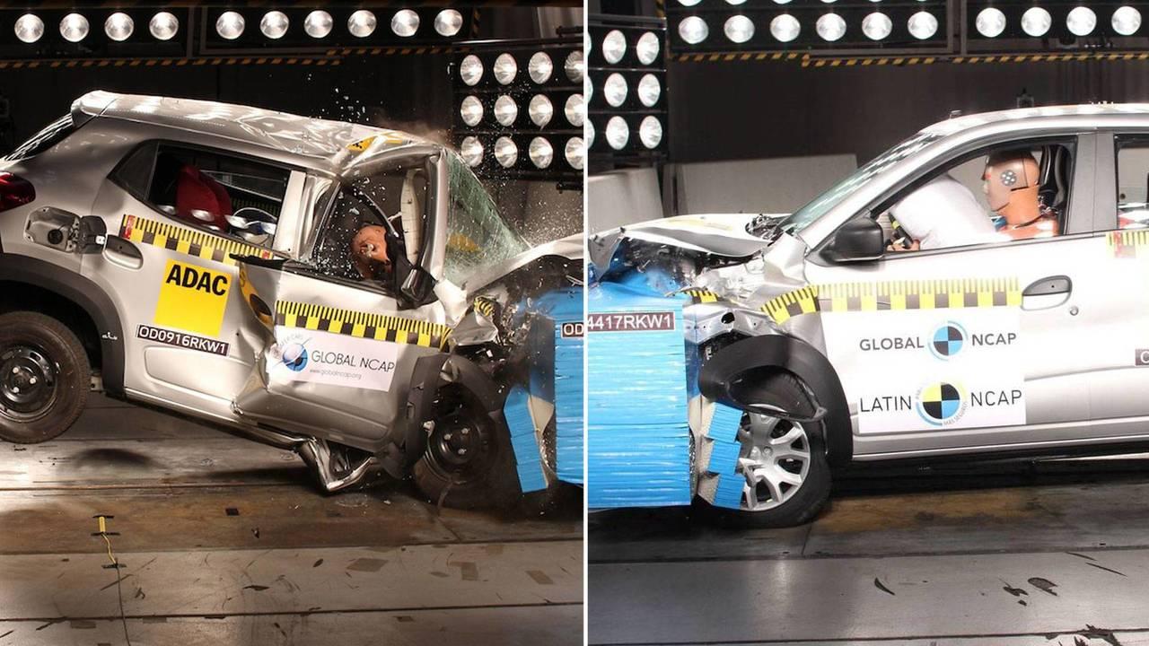Renault Kwid - India x Brasil