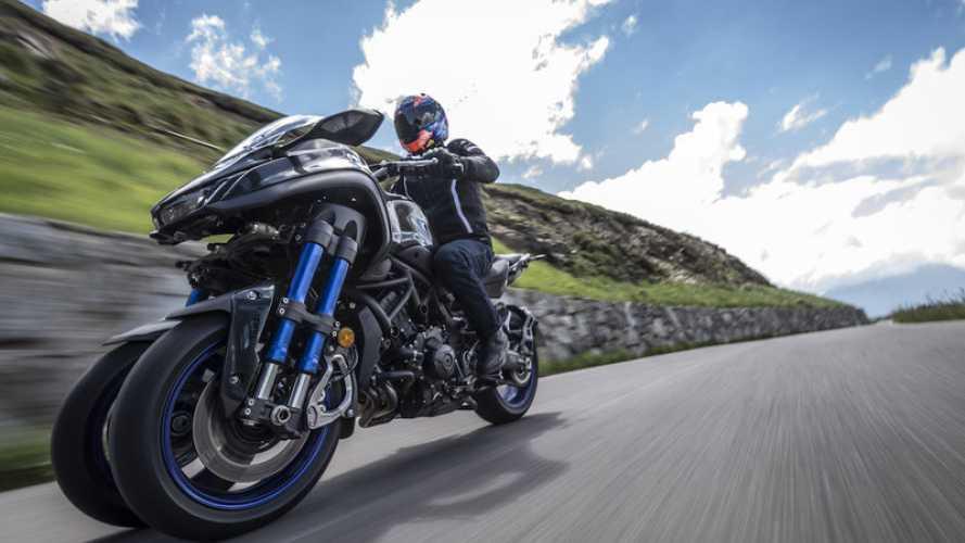 Yamaha Niken, il test