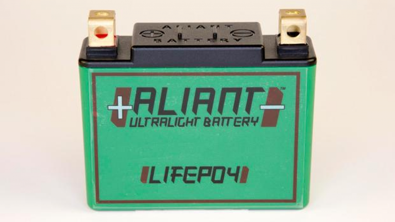 Nuove batterie Aliant YLP