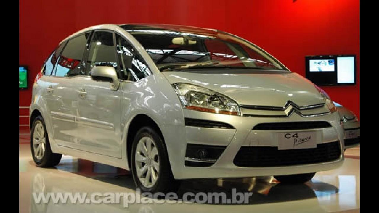 Salão do Automóvel 2008 - Nova Citroën C4 Picasso de 5 lugares chega em 2009