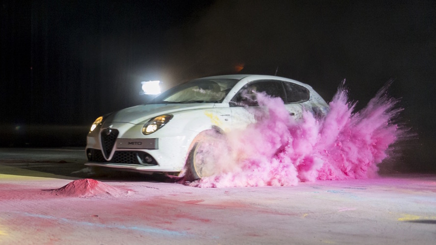 Alfa Romeo Mito creates abstract art in latest promo