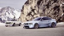 BMW 2002 Hommage konsepti Concorso'da tanıtıldı