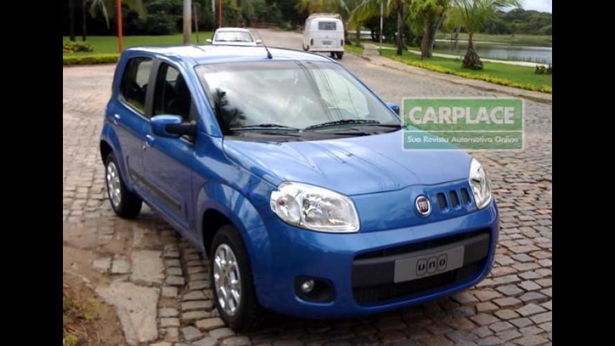 Leitor Faz Projeo Do Novo Fiat Uno 2011 Modelo Camuflado Foi