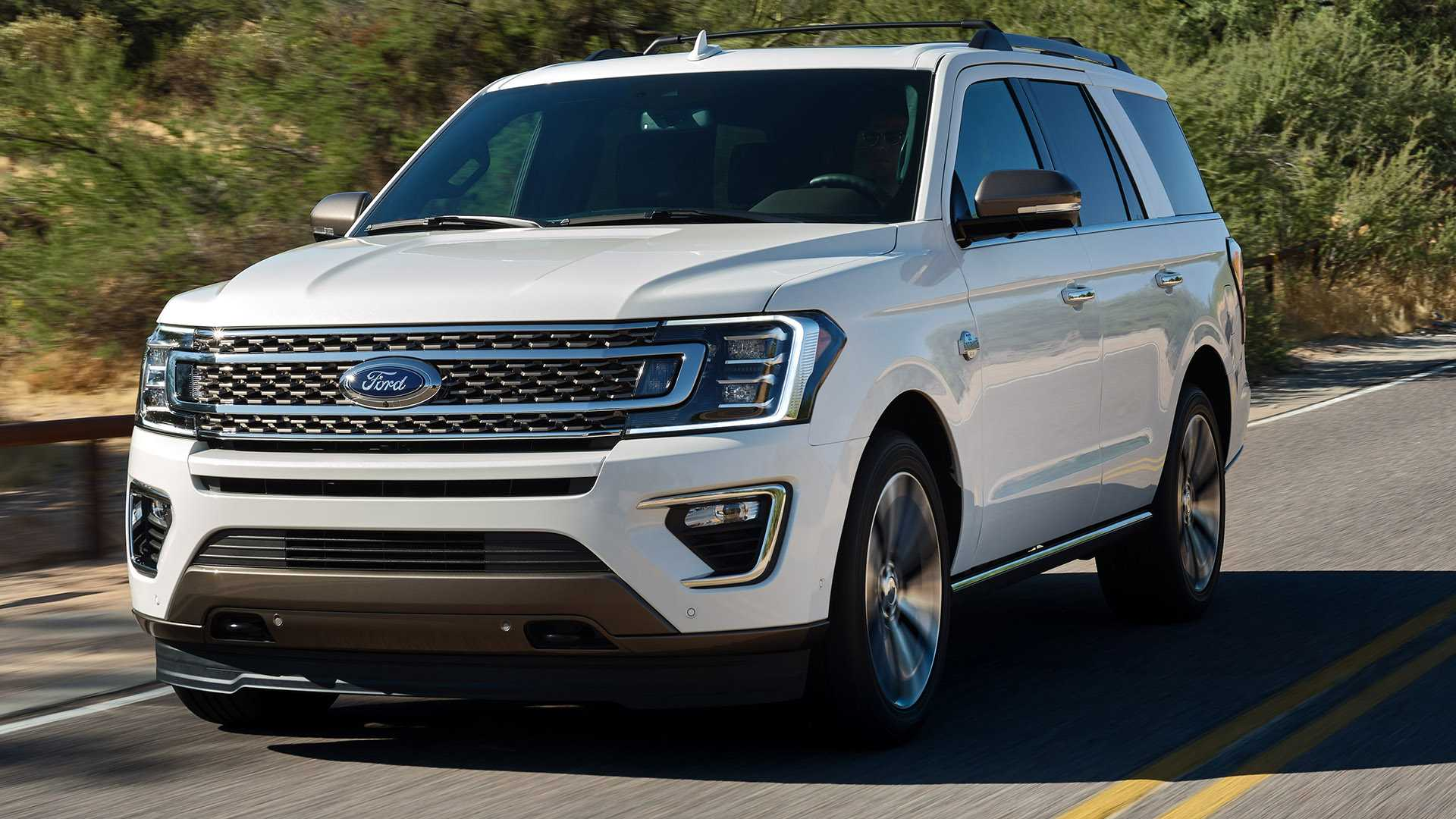 2020 Ford Expedition Spy Shoot