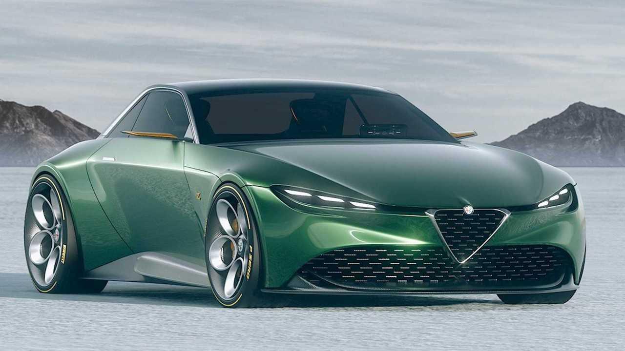 Alfa Romeo Junior Zagato Renderkép