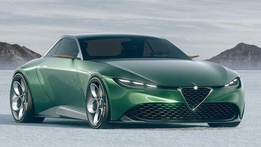 Két tervező összemosta az Alfa Romeo és a Zagato autóit, az eredmény eléggé szemrevaló