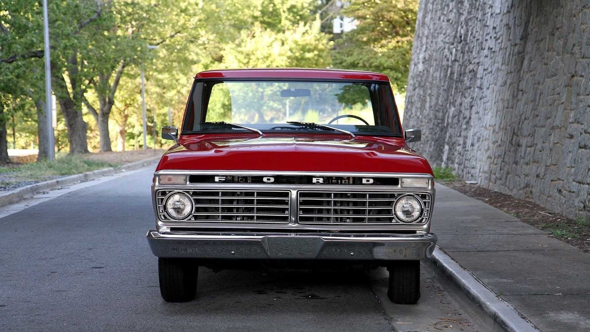 "[""For Under $14K, Take Home This Two-Owner 1974 Ford F100""]"