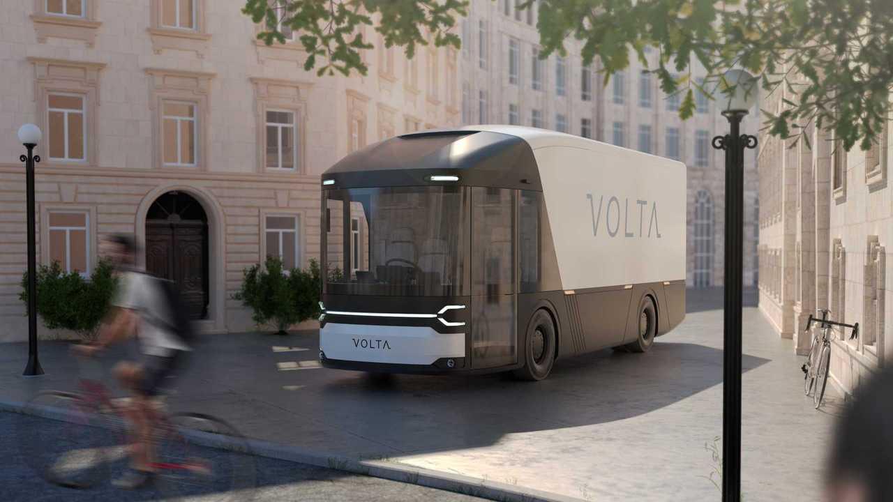 Volta Trucks vehicle visualisation