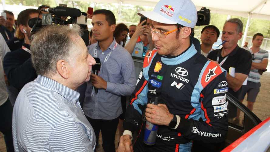 FIA başkanı, WRC Türkiye Rallisi'ni ziyaret etti