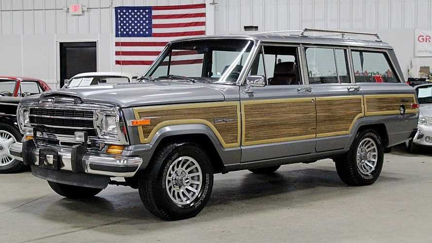 Own An Original 'Best In Class' 1991 Jeep Grand Wagoneer