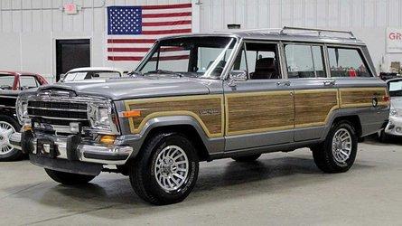 Own an original best in class 1991 jeep grand wagoneer