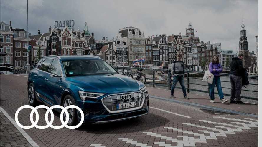 Audi E-Tron Performs 24-Hour Stunt Through 10 Countries