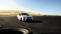 2020 Subaru Series.White WRX And STI