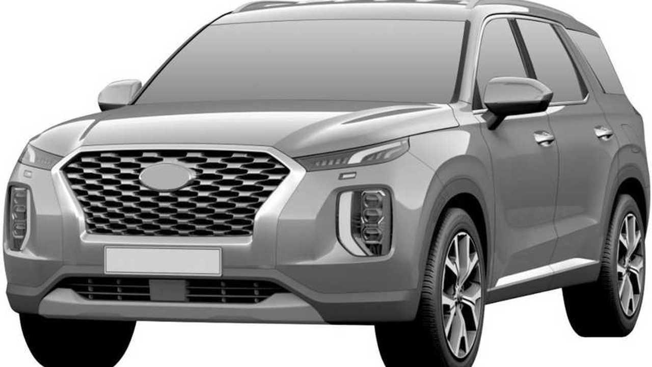 Hyundai Palisade - патентное изображение