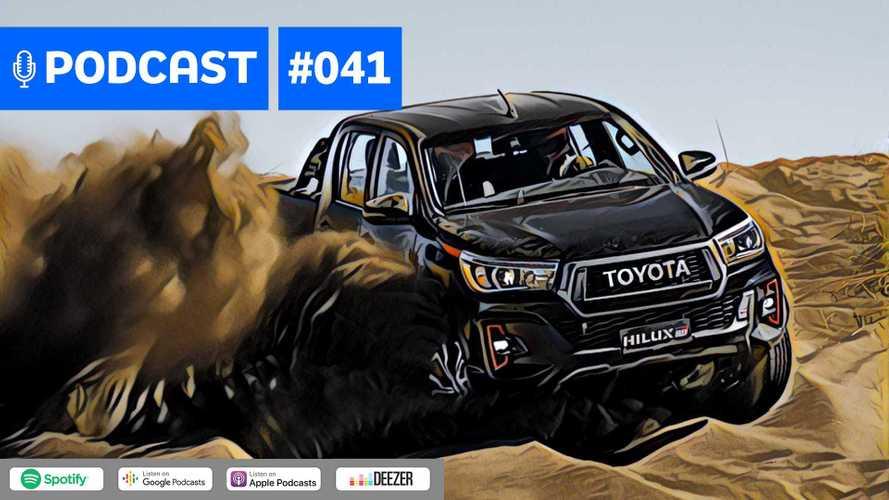 Motor1.com Podcast #41: Como anda a nova Toyota Hilux V6
