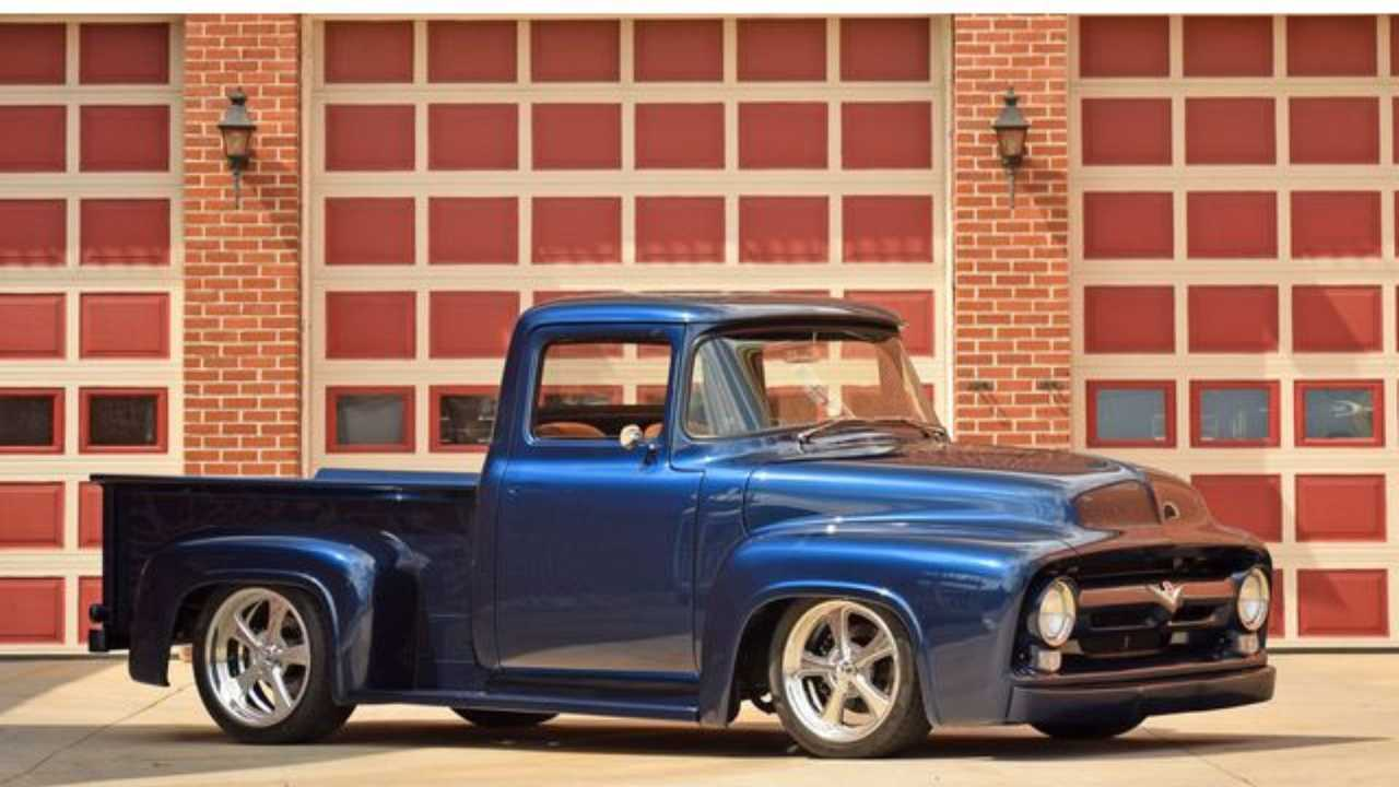 Drive Something Unusual With A 1956 Ford F100 Restomod