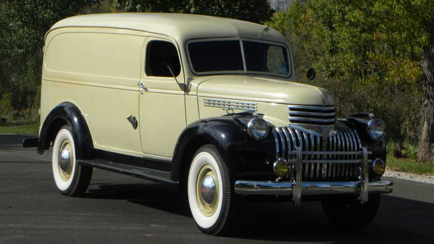 Drive A Tasteful 1941 Chevy 1 Ton Panel Truck