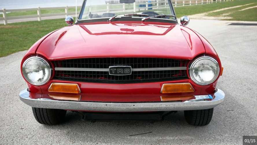 1970 Triump TR6 Is The British Roadster Done Right