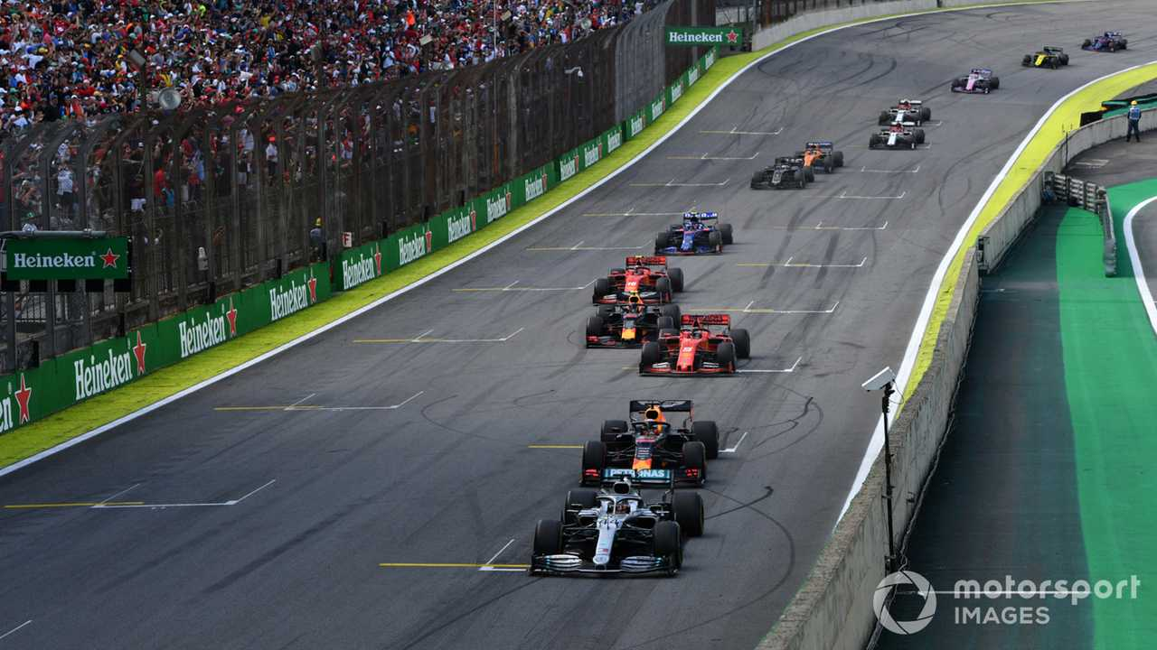 Safety Car period during Brazilian GP 2019