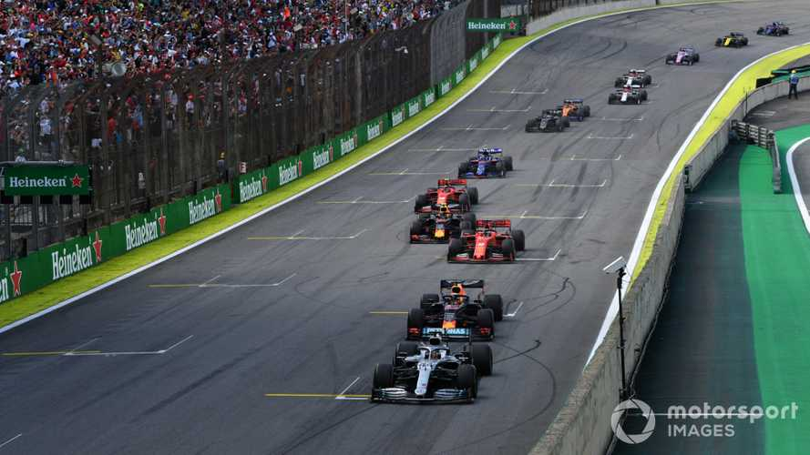 F1 considers rule change to recreate Brazil GP restart magic