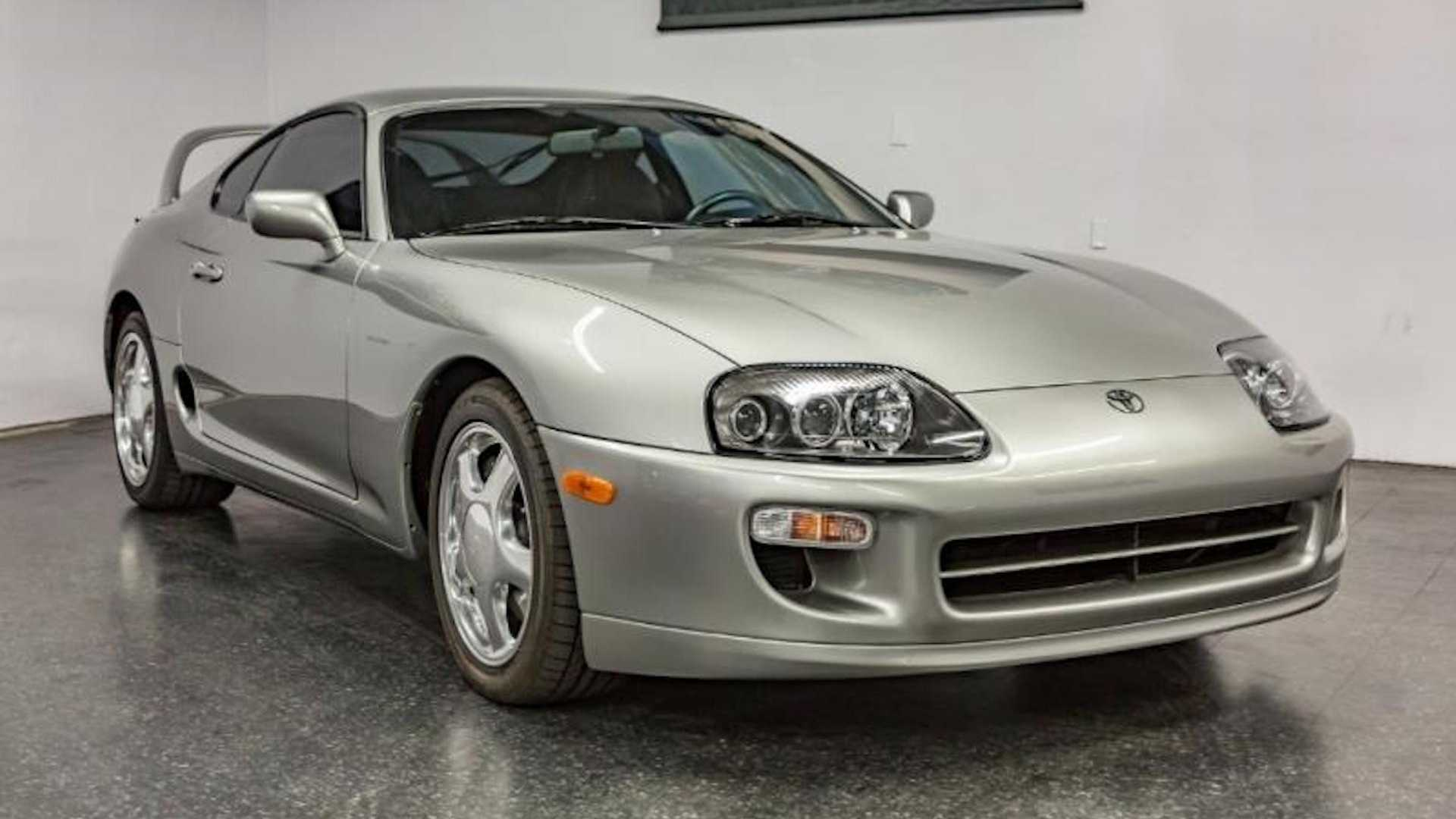 Would You Pay $500,000 For A Mint-Condition 1998 Toyota Supra?