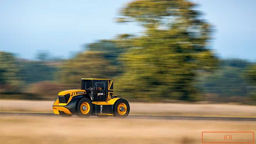 The world's fastest tractor